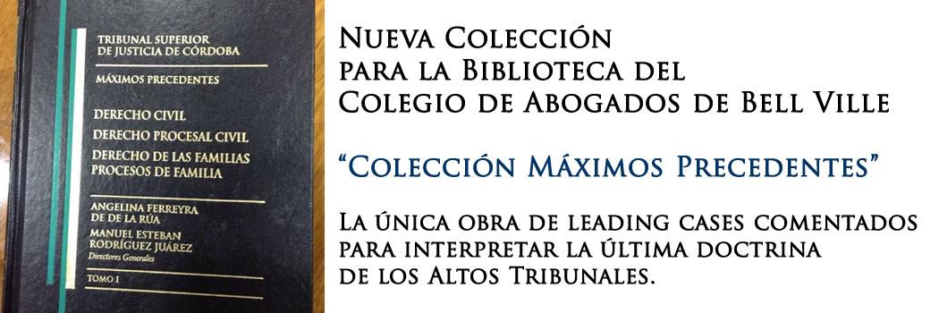 Colección Máximos Precedentes