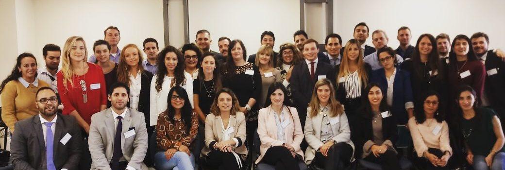 Jóvenes abogados de Bell Ville presentes en la primer reunión plenaria anual de F.A.C.A. jóvenes