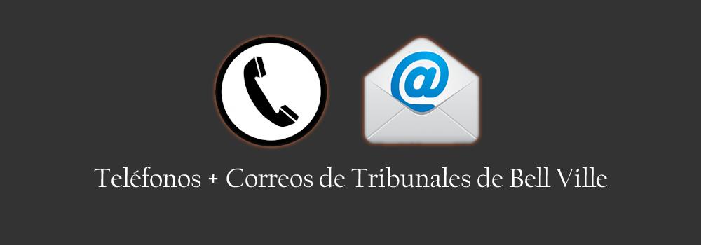 Teléfonos y Correos de Tribunales de Bell Ville